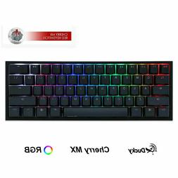Ducky One 2 Mini Mechanical Keyboard RGB 60% Double Shot PBT