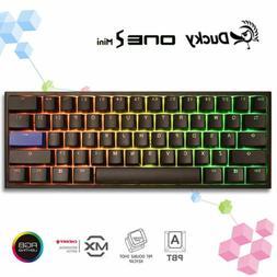 Ducky One 2 Mini RGB Mechanical Keyboard 60% PBT Cherry MX B