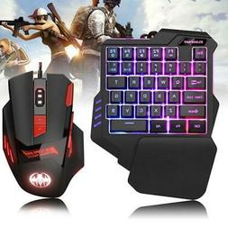 One-handed Mechanical Keyboard Mouse Game Artifact Left Hand