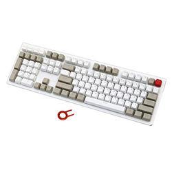 PBT Keycaps Backlit 109Key Set Doubleshot Cherry MX Key Caps