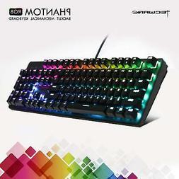 TECWARE Phantom 104 Mechanical Keyboard, RGB LED, Outemu Blu