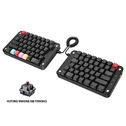 Koolertron Programmable Split Mechanical Keyboard, All 89 Ke