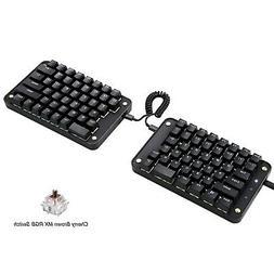 Koolertron Programmable Split Mechanical Keyboard,All 89 Key
