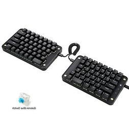 Koolertron Programmable Split Mechanical Keyboard, All 89 Ke
