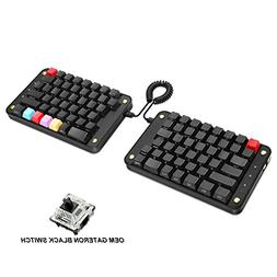 Koolertron Programmable Split Mechanical Keyboard with OEM G