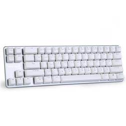 Qisan Mechanical Keyboard Gaming Brown Switch 68-Keys Mini D