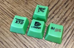 QuakeCon 2016 NVIDIA GeForce GTX - Custom Mechanical Keyboar