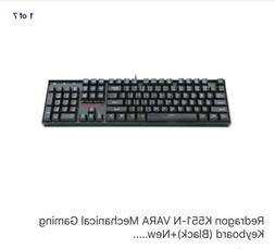 Redragon K551-N VARA Mechanical Gaming Keyboard +New.....