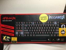 Redragon KUMARA K552 RGB Mechanical Gaming Keyboard - Backli