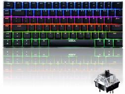 RGB LED Backlit Wired Mechanical Gaming Keyboard Ajazz AK33