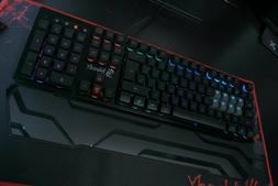 RGB Multicolor RGB Gaming Keyboard - RGB Backlit Keys