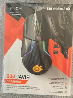 SteelSeries Rival 650 Quantum Wireless Gaming Mouse - Rapid
