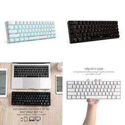 Rk Royal Kludge Rk61 Wireless Mechanical Gaming Keyboard 61