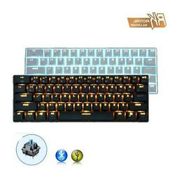 RK61 Wired and Bluetooth 3.0 Wireless Mechanical Gaming Keyb