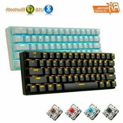 RK61 Wireless Bluetooth Wired Mechanical Keypad LED Backligh