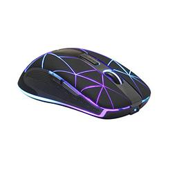 Rii RM200 Wireless Mouse, 1600DPI 5 Buttons Rechargeable Mou