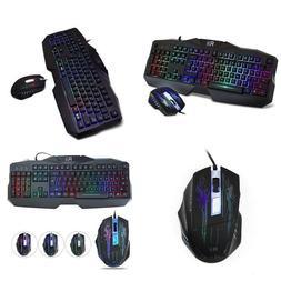 Rii RM400 104 Key LED Backlit Gaming Mouse Gaming Keyboard C