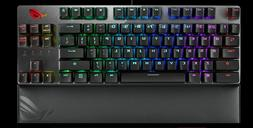 ROG STRIX SCOPE TKL DELUXE MECHANICAL GAMING KEYBOARD WITH E