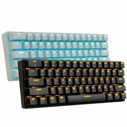 Sale Mechanical Keyboard Wired / Wireless Bluetooth LED Back