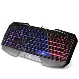 AULA SI-859 Backlit Gaming Keyboard with Adjustable Backligh