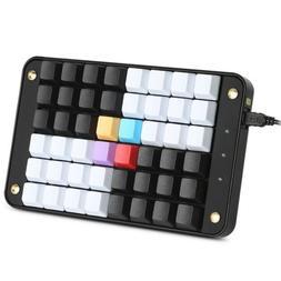 Single Hand Gamer Programmable Mechanical Keyboard Keypad Ch
