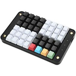 Koolertron Single-Handed Programmable Mechanical Keyboard wi