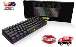 Smart Duck XS61 60% Ultra Compact Mechanical Gaming Keyboard