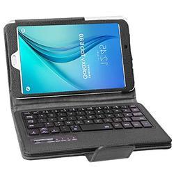 Smart Keyboard Case for Samsung Galaxy T377 Tab E 8.0 Inch,