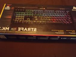 Corsair STRAFE RGB MK2 Cherry MX Red Mechanical Gaming Keybo