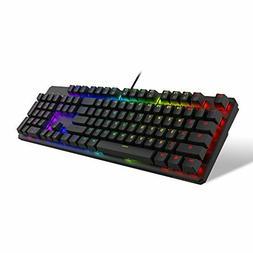 TECWARE Phantom 104 Mechanical Keyboard, RGB LED, Outemu Bro