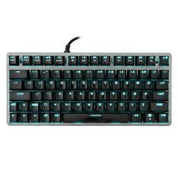 Velocifire Tenkeyless Mechanical Keyboard Mini, 78-Key Compa