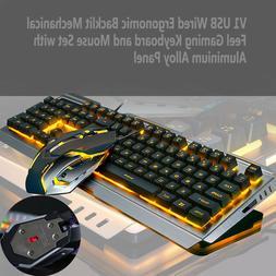 UAS Mechanical Keyboard USB Cable Ergonomic Mechanical Gamin
