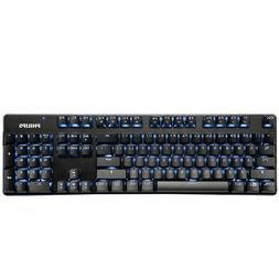 Philips USB Wired mechanical gaming keyboard LED Optical Erg