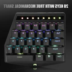 USB Wired Mini Mobile Phone Game Mechanical Keyboard Backlit