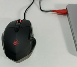 Bloody V7 Ergonomic Claw Grip Gaming Mouse with Rubberized B