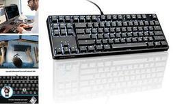 VELOCIFIRE TKL02 Mechanical Keyboard TKL 87 Key Tenkeyless E