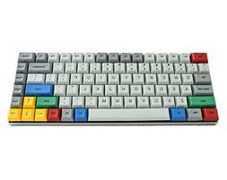 Vortex 75% - Grey CNC Case - PBT DSA Keycaps - Cherry Mx-Blu