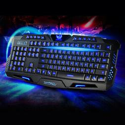 Wired Game Computers Accessories Backlight Keyboard 3 Colors