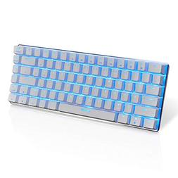 LexonElec® Wired Gaming Keyboard Ajazz AK33 Blue LED Backli