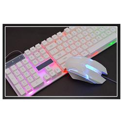 Wired Gaming LED <font><b>Keyboard</b></font> Gaming Mouse S