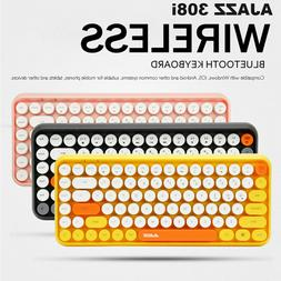 Wireless Bluetooth Mechanical Keyboard 84-Key Typewriter Key