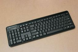 AmazonBasics Wireless Keyboard - Quiet and Compact - US Layo