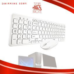 Wireless Keyboard And Mouse Combo Set 2.4G For Apple iMac An