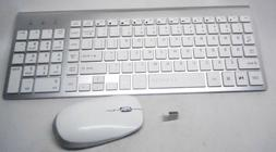 FENIFOX Wireless Keyboard and Mouse with User Manual