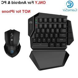 wireless pc gaming combo mechanical keypad keyboard