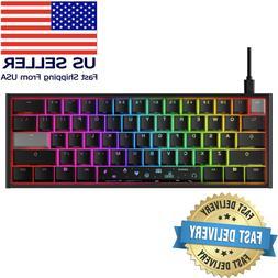 HyperX x Ducky One 2 Mini Mechanical Gaming Keyboard ✅IN H